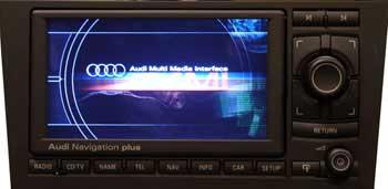 Audi Navigation PLUS III