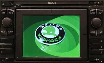 Skoda Radio Navigation I