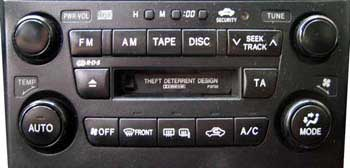 Lexus P3730 - RX300