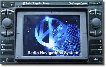 VW Radio Navigation System