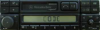 Mercedes Exquisit (BE1490, Becker)